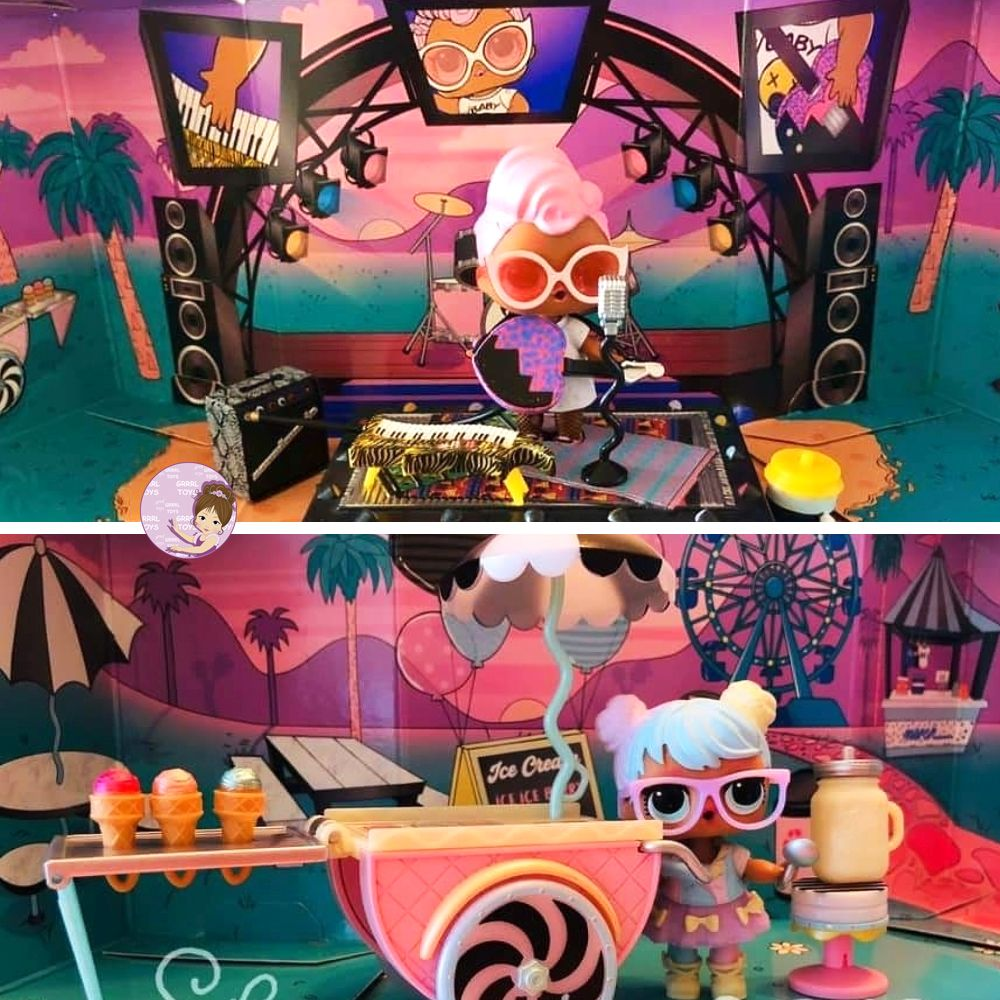 Real photos of L.O.L. Surprise Furniture series 2 sets