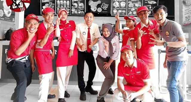 Lowongan Kerja Crew Restaurant KFC Indonesia Penempatan Mall Of Serang
