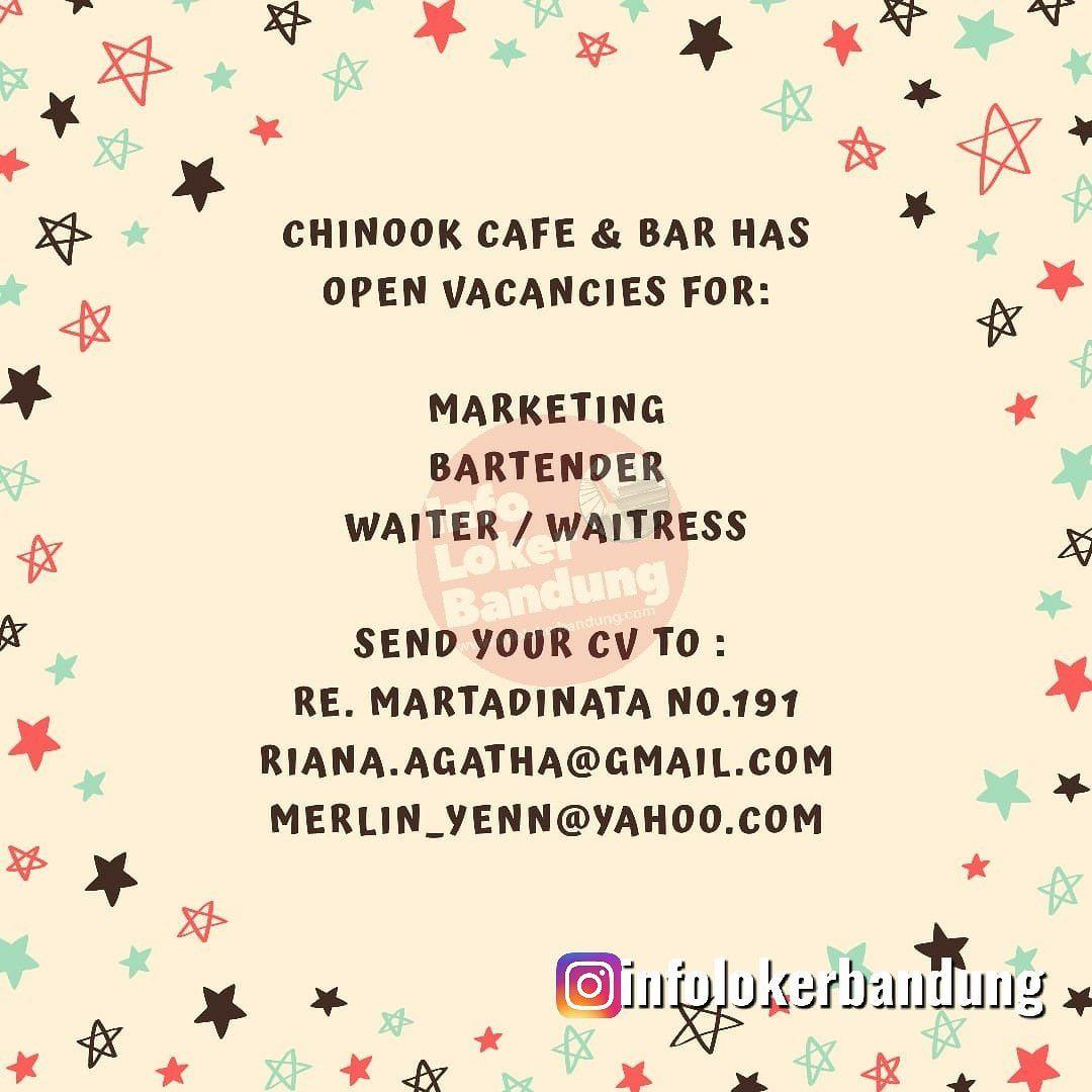 Lowongan Kerja Chinook Cafe & Bar Bandung Juni 2019