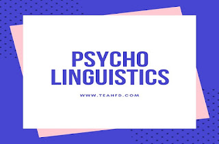PSYCHO LINGUISTICS