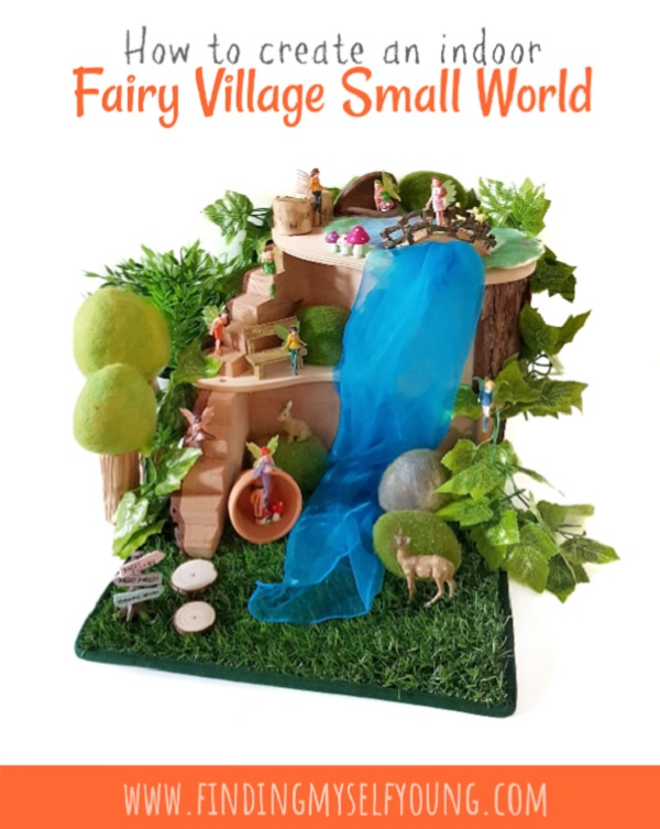 How to create an indoor fairy village small world