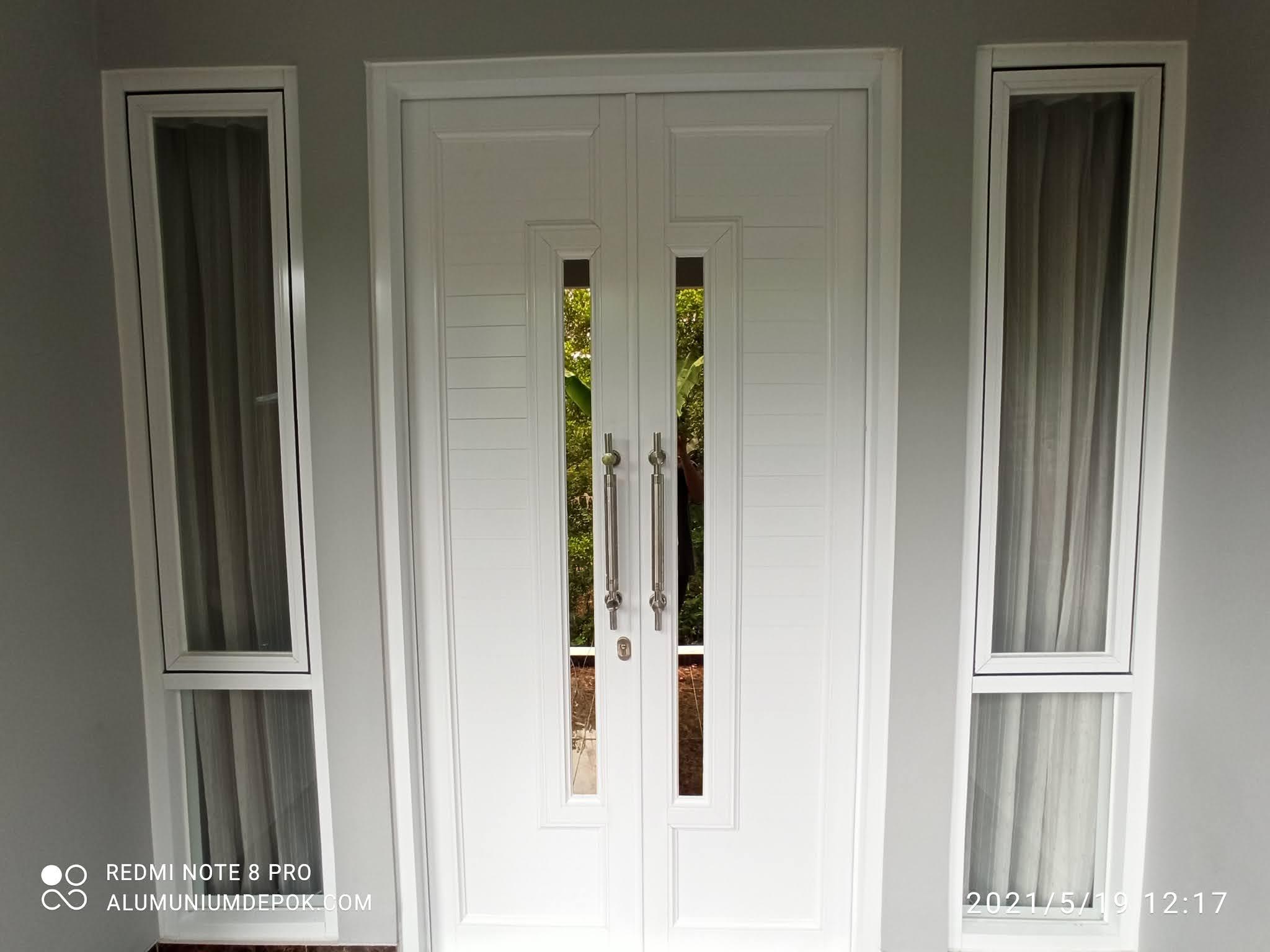 Kusen dan pintu aluminium murah