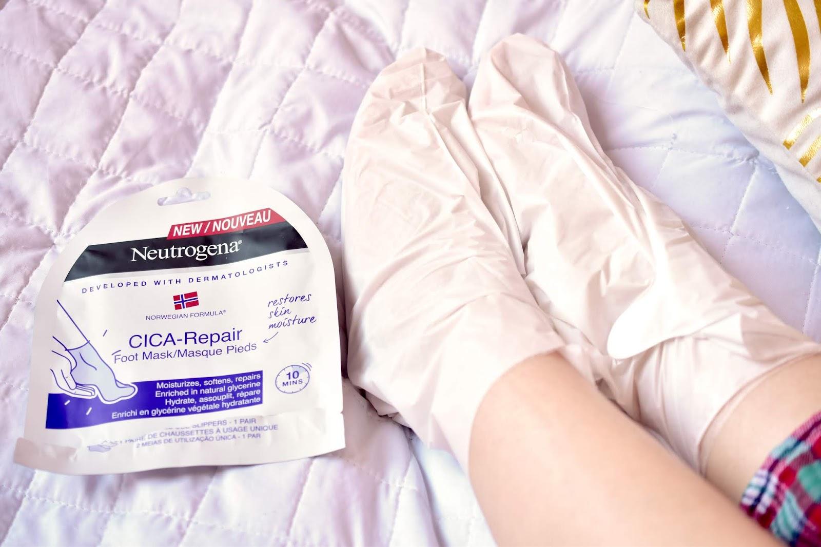 Neutrogena CICA Repair ponožky na nohy