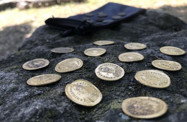 Σε ανασκαφές  βρέθηκαν 15 χρυσά νομίσματα πρώιμης βυζαντινής περιόδου