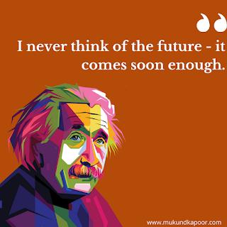 Quotes By Albert Einstein on time