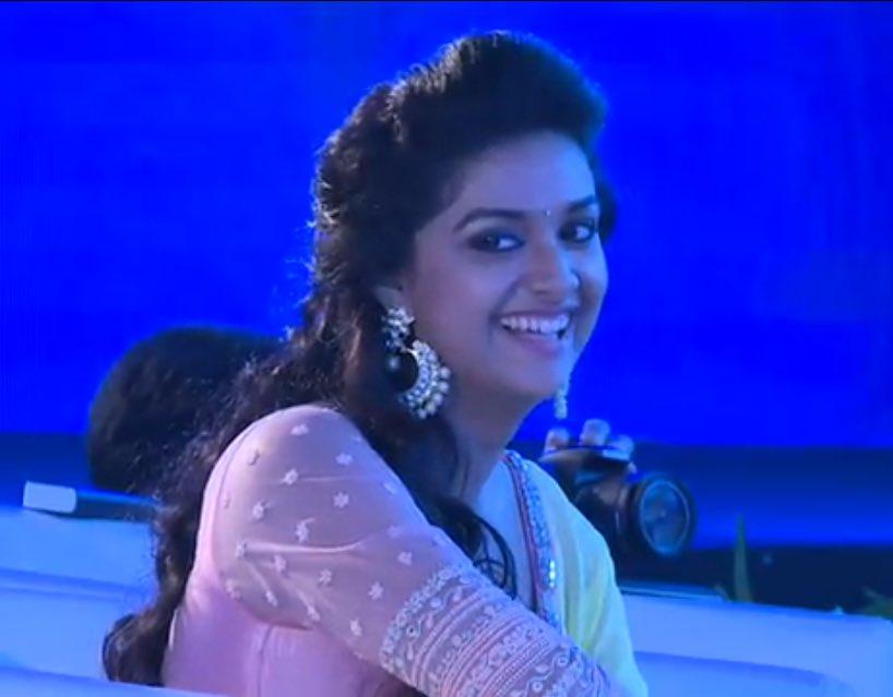 Actress Keerthy Suresh Latest Cute HD Stills - Gethu Cinema