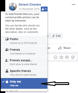 Facebook Profile Picture without sending notification