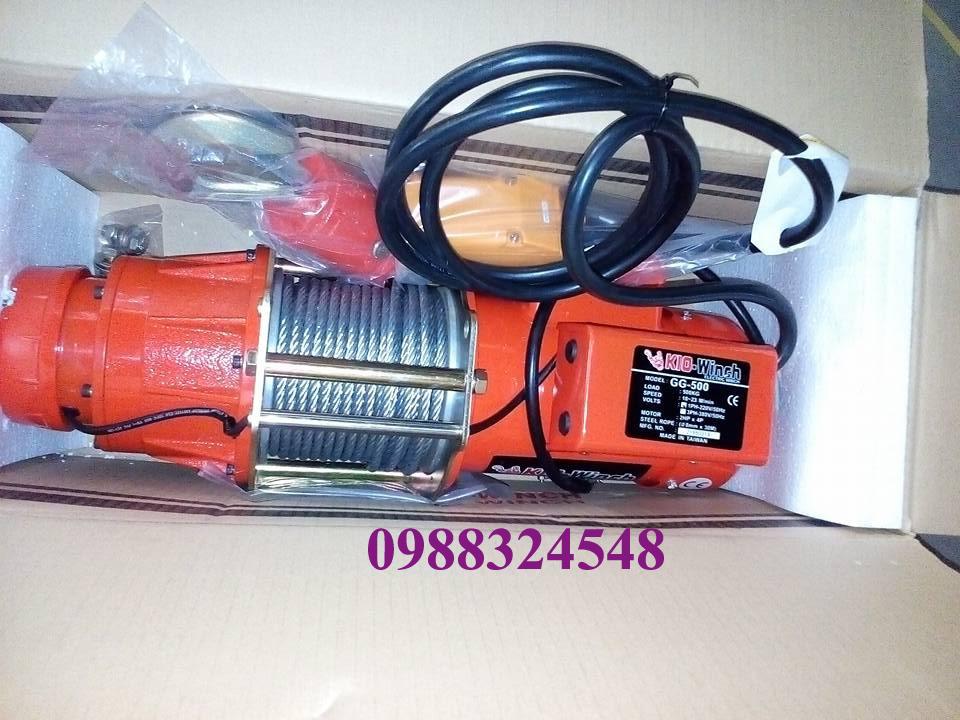 Tời cáp điện KIO GG-500