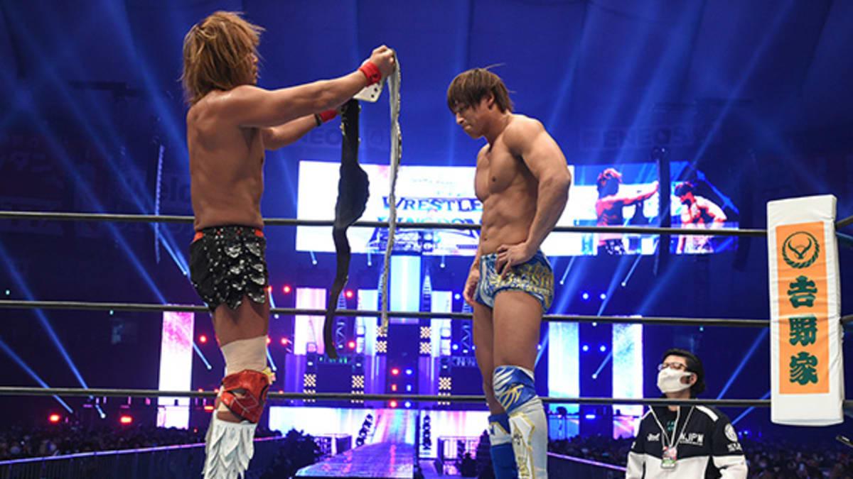 IWGP Heavyweight e Intercontinental Titles são unificados