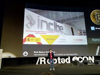 RootedCon 2019 - Raul Riesco - Aproximación algoritmica al talento en ciberseguridad