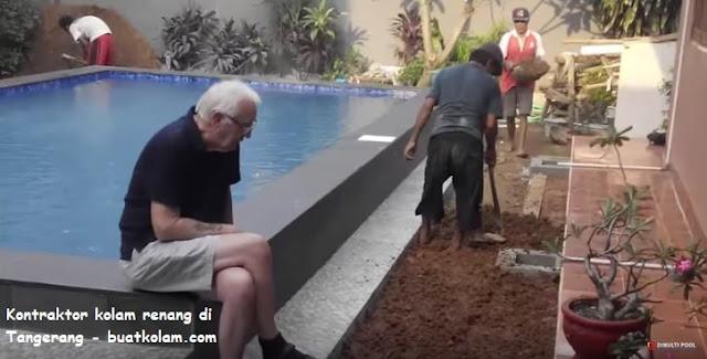 kontraktor kolam renang di tangerang