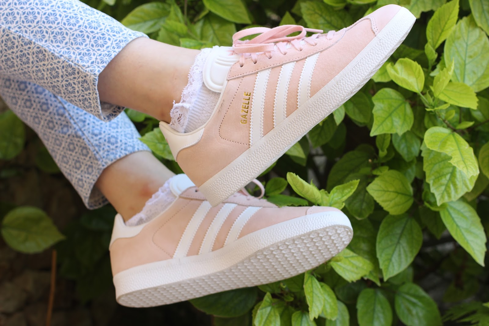 Adidas Gazelle Pale Pink