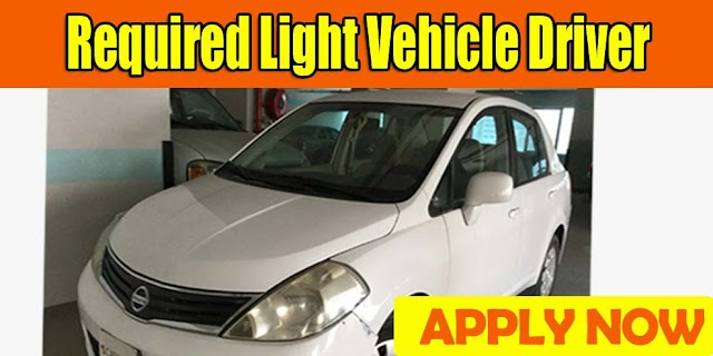 Required Light Vehicle Driver