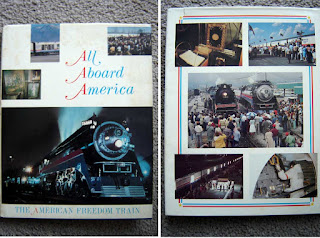 All About America commemmorative book from the American Freedom Train