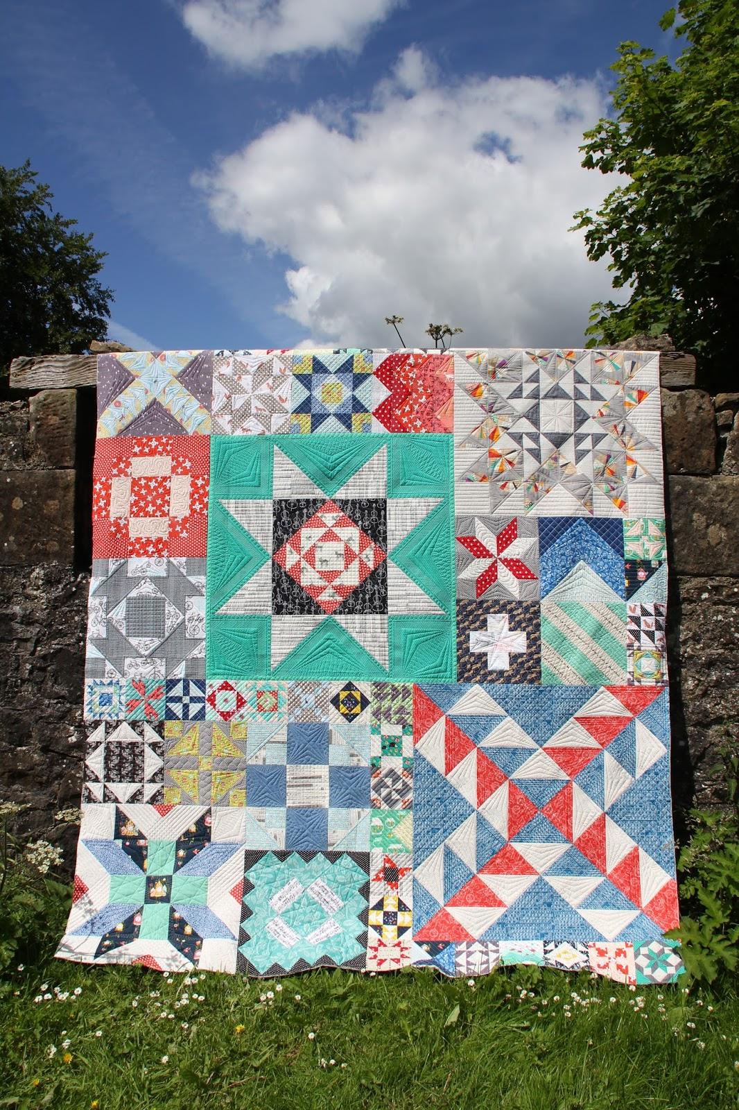 Moda Building Blocks Quilt Pattern
