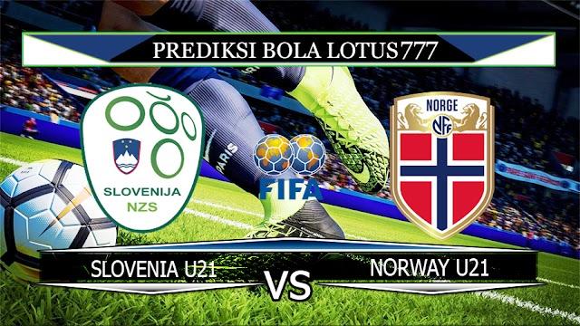 PREDIKSI SLOVENIA U21 VS NORWAY U21 31 MARET 2020