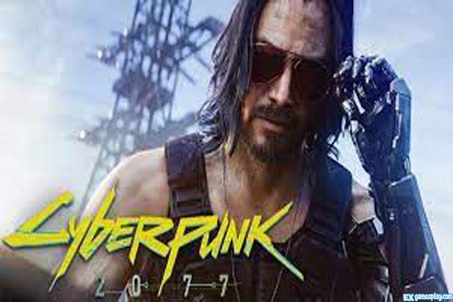 Cyberpunk 2077 Keanu Reeves A.K.A Johnny Silverhand