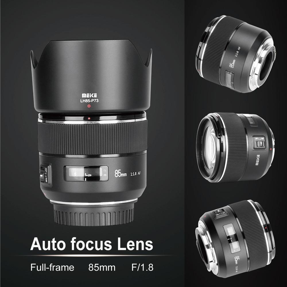 Несколько ракурсов объектива Meike 85mm f/1.8 для Nikon F