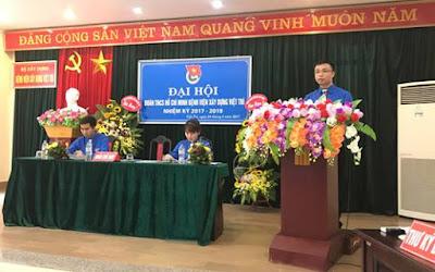 Đại hội Đoàn Thanh niên Bệnh viện Xây dựng Việt Trì nhiệm kỳ 2017- 2019 diễn ra ngày 24-4-2017