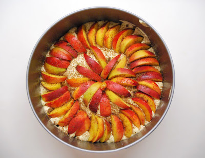 Gâteau aux nectarines