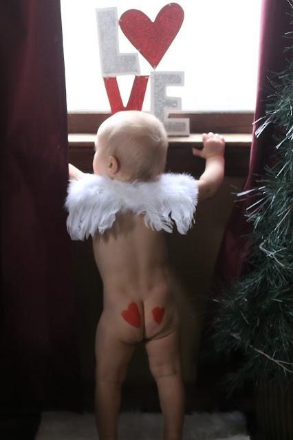 Valentine's Day Photo Ideas for Babies