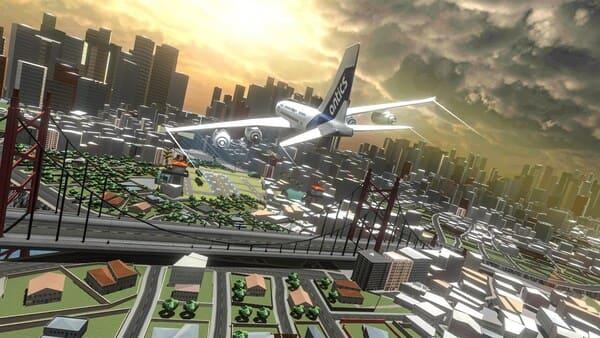 Airplane Flight Sim 2019