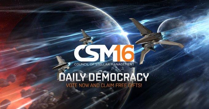 Daily Democracy - Vote in CSM 16