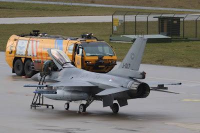 Dutch F16 Eindhoven Netherlands