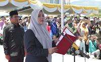 Bupati Ajak 82 Orang Kades yang Baru Dilantik, Kerja Amanah Wujudkan Bima Ramah