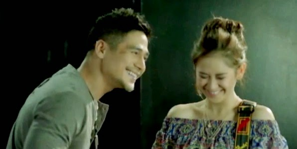 Sarah Geronimo and Piolo Pascual in The Breakup Playlist