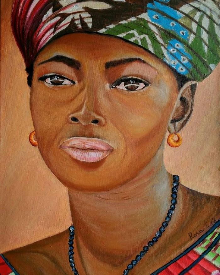 Испанский художник. Rosa Fernandez