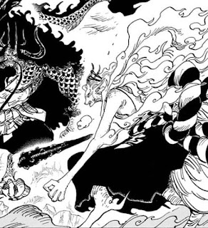 Spoiler Manga One Piece Chapter 1020 , Spoiler One Piece Chapter 1020, manga one piece chapter 1020, manga one piece chapter 1019, Yamato vs Kaido, Yamato dan Kaido, bentuk buah iblis yamato, oguchi makami adalah,  inu inu no mi,  inu inu no mi model dachshund, bentuk inu inu no mi, bentuk rubah dari yamato, yamato dalam bentuk inu inu no mi, kekuatan buah iblis yamato