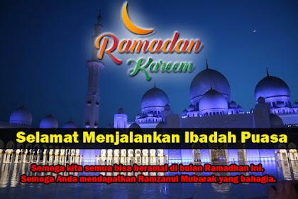 35 Ucapan Selamat Puasa Ramadhan 2021