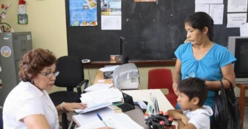 MINEDU: Matrícula escolar no está condicionada a pagos - www.minedu.gob.pe