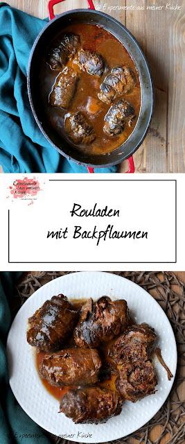 Rouladen mit Backpflaumen | Rezept | Kochen | Essen | Herzhaft | Hausmannskost