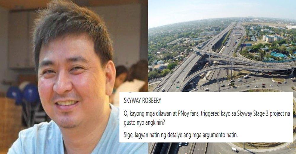 PTN - Radio host settles debate between Dilawan & DDS who gets credit for Skyway 3