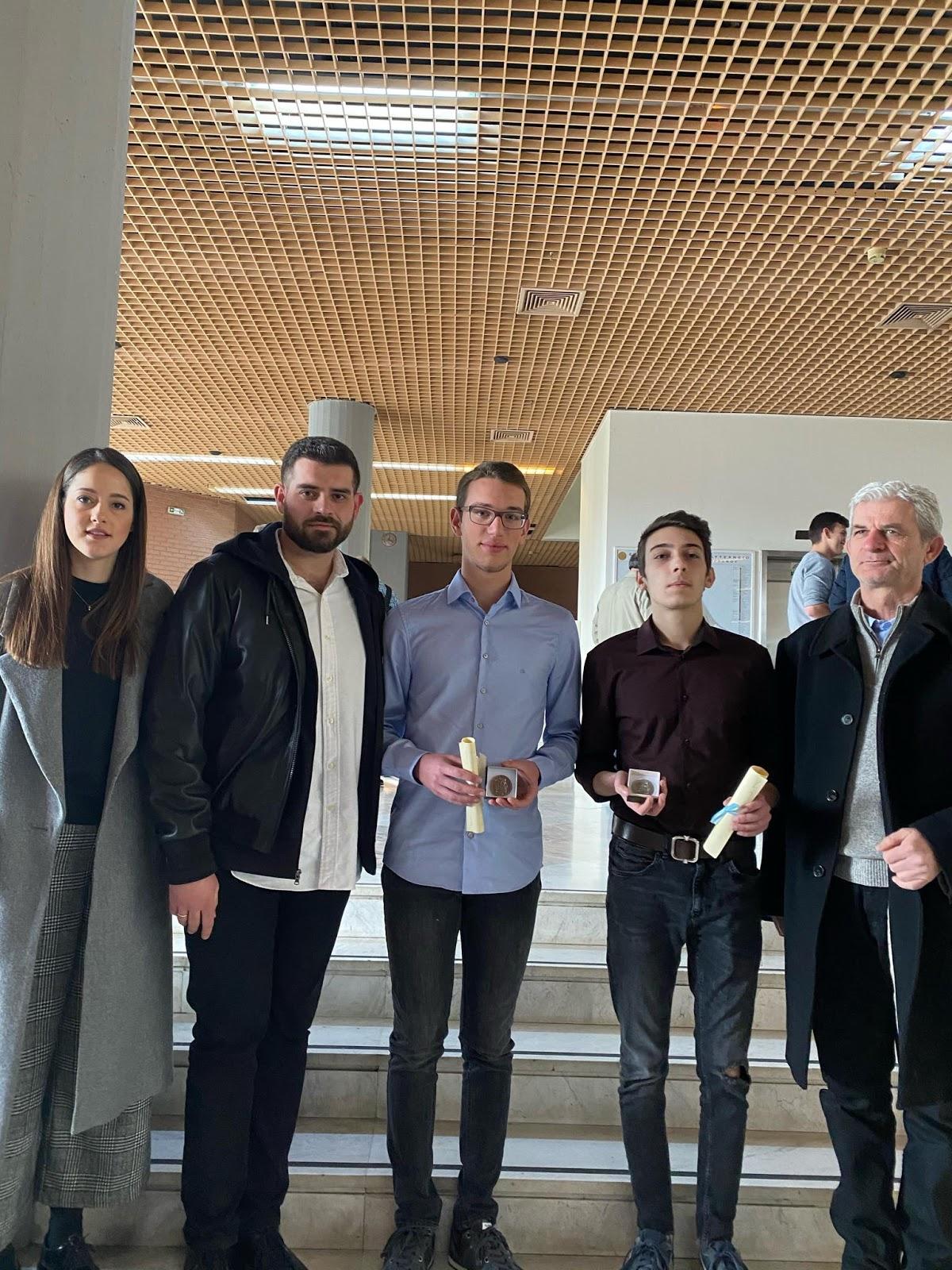 Δύο μετάλλια σε Λαρισαίους μαθητές στην Εθνική Μαθηματική Ολυμπιάδα