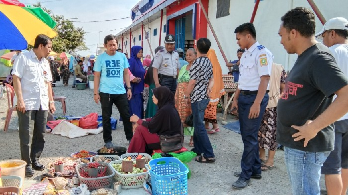 Jumlah Pedagang di Pasar Lappa Meningkat, Tim Terpadu Lakukan Penataan