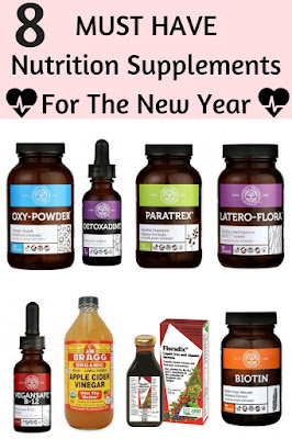 8 Must Have Nutrtion Supplements For The New Year