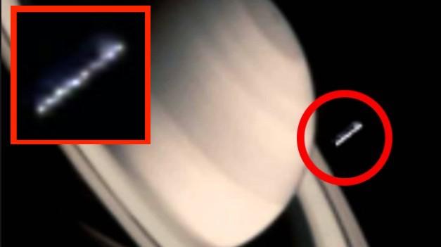 Vệ tinh Cassini Probe chụp được ảnh một 'vật thể bí ẩn' gần vành đai Sao Thổ