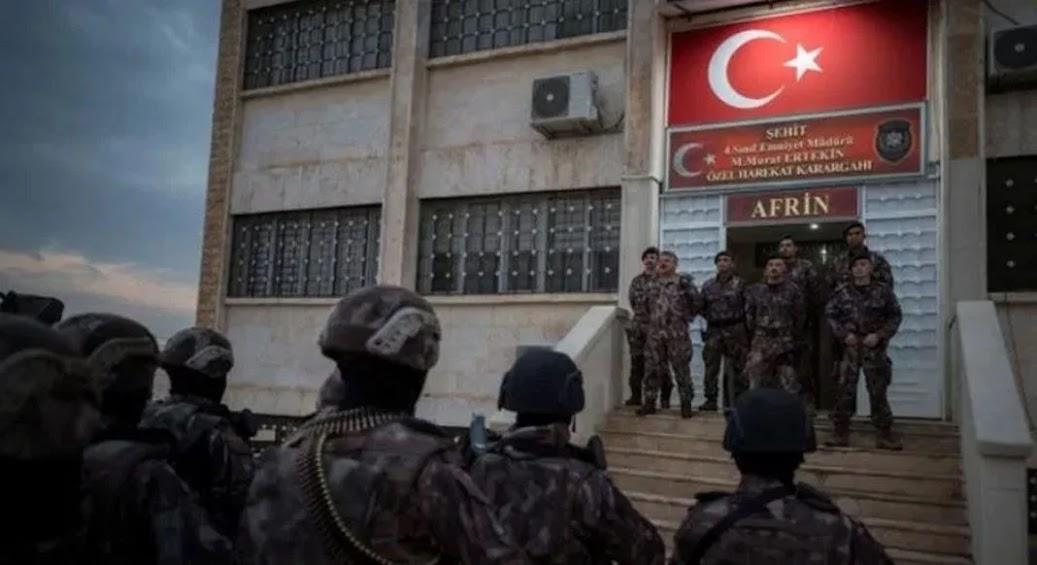 Αφρίν: Η «ειρηνευτική» επιχείρηση των Τούρκων σε όλο της το μεγαλείο…