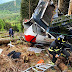 Italia: Mueren 14 personas al caer al vacío de cabina de un teleférico