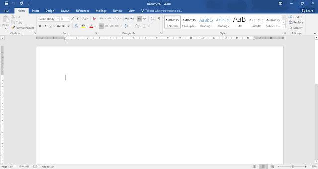 Cara Save Dokumen Word ke PDF