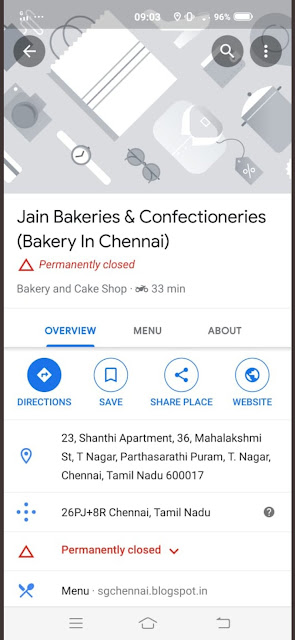 I STAND WITH JAIN BAKERY