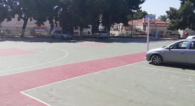 Διαθέσιμο για πάρκινγκ το προαύλιο του 1ου Δημοτικού Σχολείου Κρανιδίου