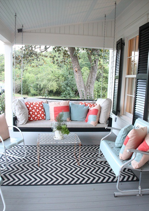 Outdoor Patio Color Combos That Rock For 2015