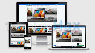 Razer - Premium Blogger Template v1.0 Free
