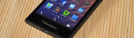 BlackBerry Z10 version 10.3.3 blackberry protect id removal