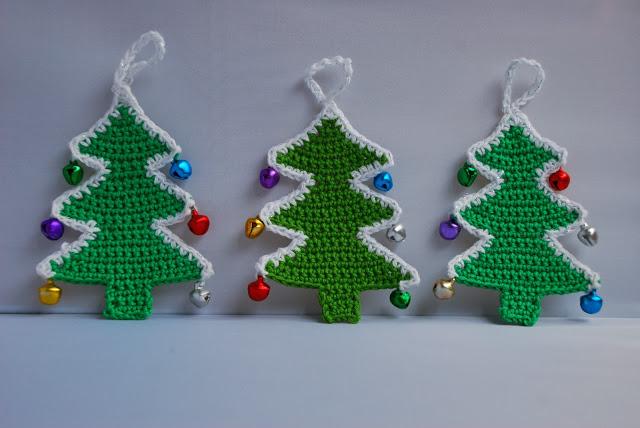 Kerstboom Decoratie Gratis Haakpatroon Christmastree Decoration
