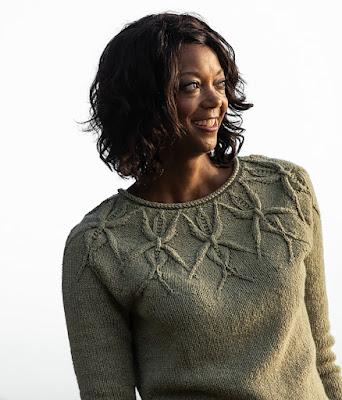 Isabel yoke sweater, from Vogue Knitting Magazine Winter 2020 2021
